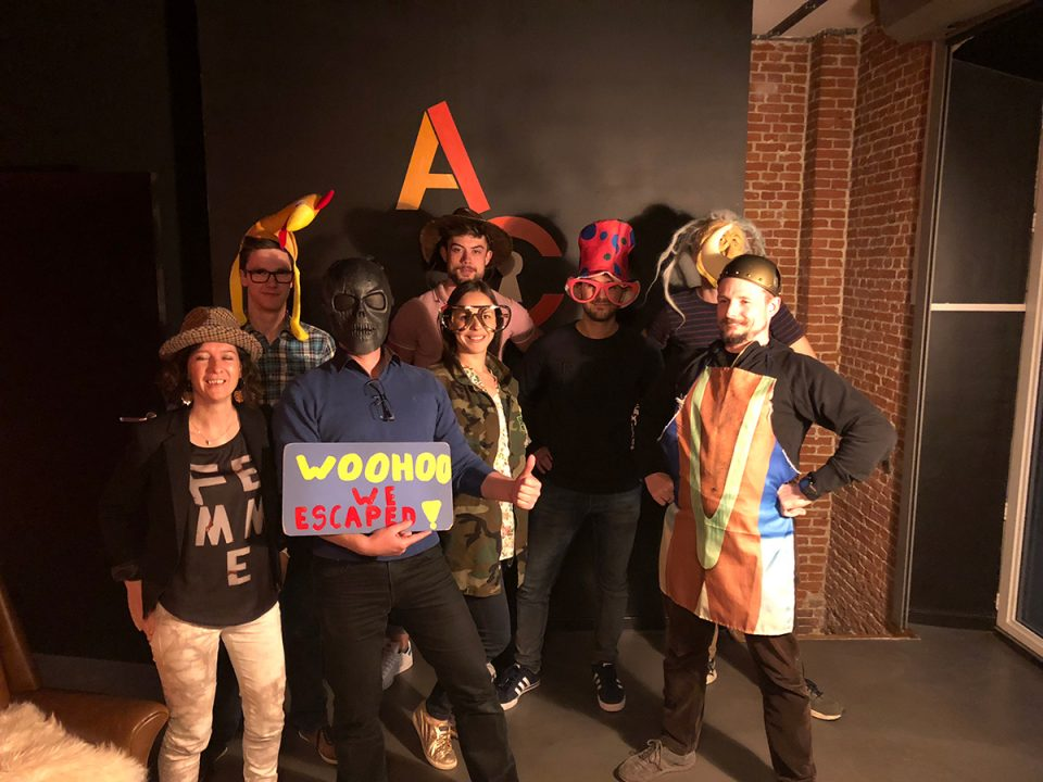 2commit teamevent - escape room in Antwerpen