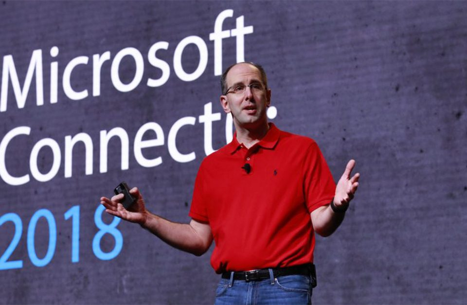 Scott Guthrie @ Microsoft Connect 2018